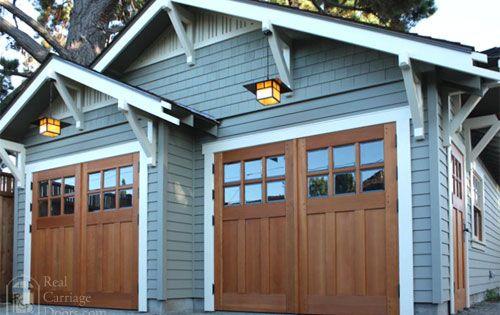 what kind of door between house and garage 1