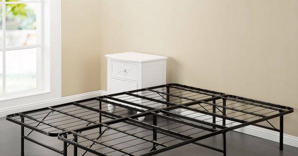 Spa Sensations Steel Smart Base Bed Frame Black Multiple Sizes Price