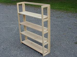 Folding Shelf I Have These I Painted Them Red And Stacked Then For My Book Shelves Craft Fair Displays Craft Booth Displays Craft Show Booths