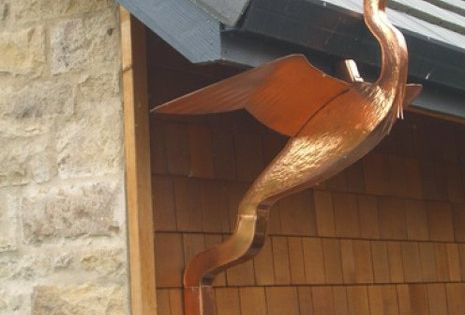Rain Gutters There Are Two Types Roof Installed And