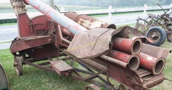 Farm Machinery Belts : Corn box belt driven stauffer vintage farm internet only auction in mount joy pennsylvania