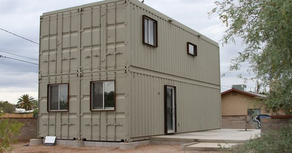Metal shipping container homes see more about container homes at - Pros and cons of shipping container homes ...