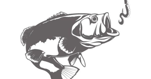Bass fish stencils for Big fish theory vinyl