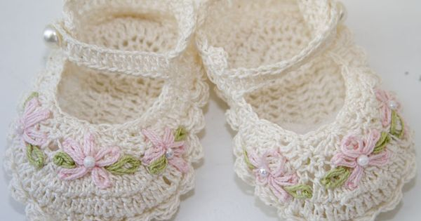 heirloom knitted baby booties free pattern Free baby ...