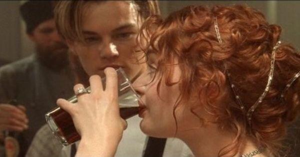 Rose Dinner Hair Other Side Titanic Movie