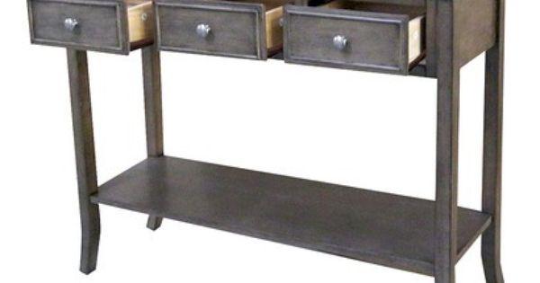 Simply Extraordinary Console Table Threshold Console  : cc94514f363d8c5d6fb6b18fddec7e99 from www.pinterest.com size 600 x 315 jpeg 17kB
