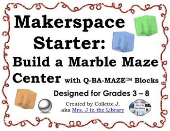 Makerspace Starter Marble Maze Building Center Makerspace Marble Maze Information Literacy