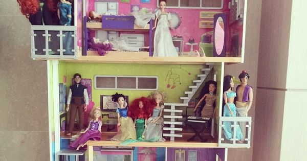 My modern dollhouse kidkraft dollhouse dollhouses kidkraft instagram favorites pinterest - The dollhouse from fairy tales to reality ...