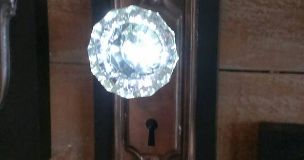 Lighted Glass Door Knobs Illuminated Entrance By