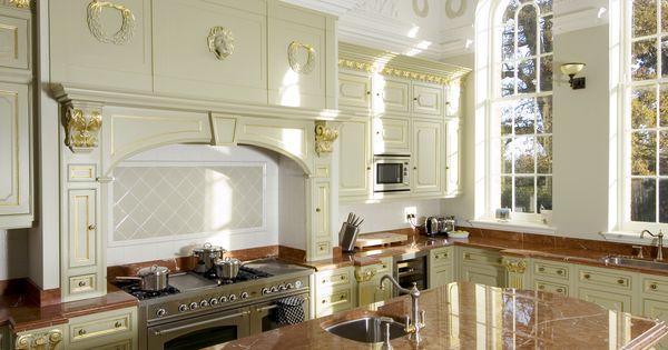 Clive Christian Kitchen Designed By Quinton Design Ltd Luxury Kitchens Pinterest