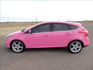 Cool Cars Girly 2019 2012 Pink Ford Focus Titanium Www Iseecars