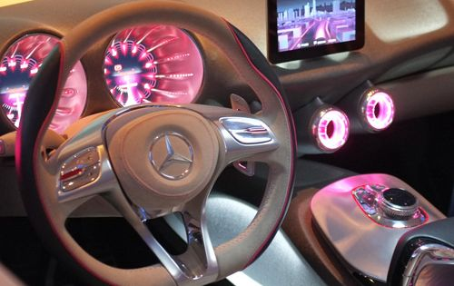Dream car interior.... cute!!