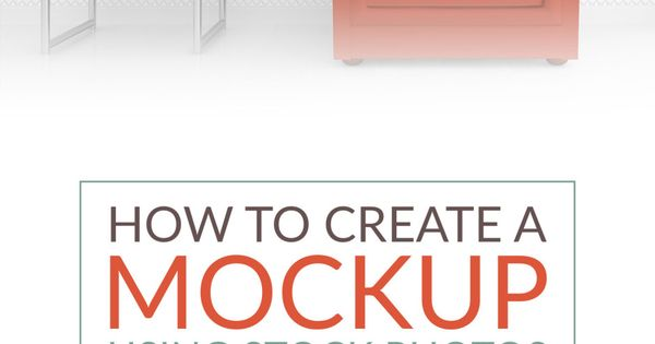 how to create professional mockups in photoshop