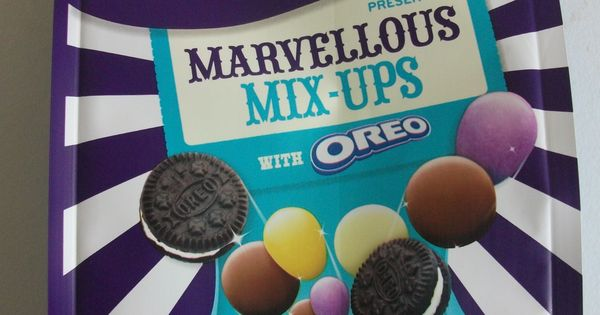 Cadbury Dairy Milk Marvellous Mix Ups With Oreo Contains