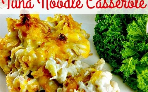 Casserole Recipes - Grown Up Tuna Noodle Casserole ...