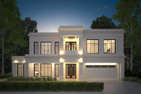 The Palladium 510 Luxury House Design By Somerset Morgan Luxury House Designs Facade House House Front Design
