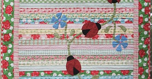 Baby Gift Baskets Toowoomba : Ladybirds on patrol quilt natalie ross sewing patterns