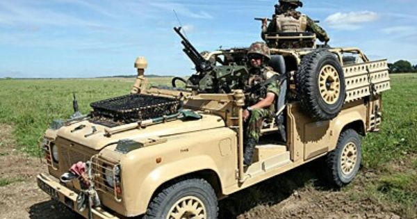 british s a s land rover 110 military vehicles. Black Bedroom Furniture Sets. Home Design Ideas