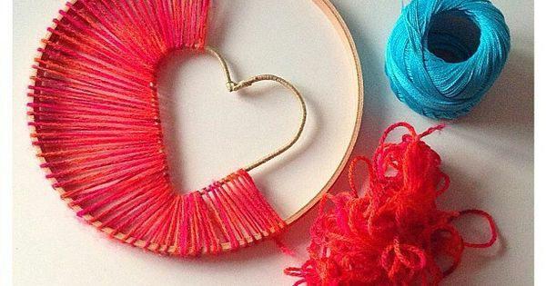 Hope >> Heart of Hope Dreamcatcher | Dream catchers, Catcher and Embroidery thread