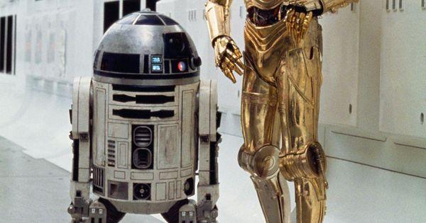 Star Wars Droids Droid Robot Robots R2-D2 R2D2 C-3PO C3PO Sci-Fi Science