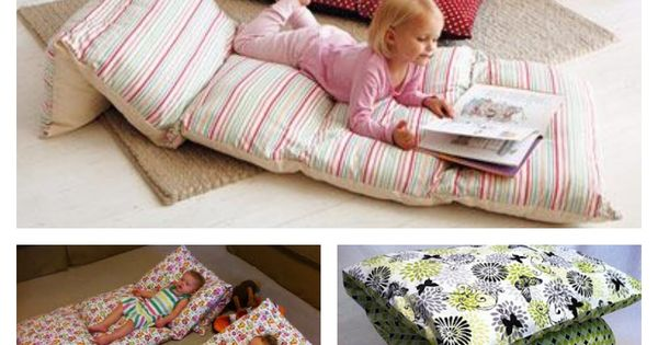 Zip Together Floor Pillows : Sew Pillowcases Together To Make Floor Cushions Floor cushions, Pillow beds and Cases