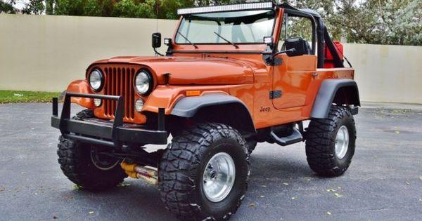 Jeep CJ-7 Sport Quadra Trac SUV Lifted Skyjacker Custom w ...