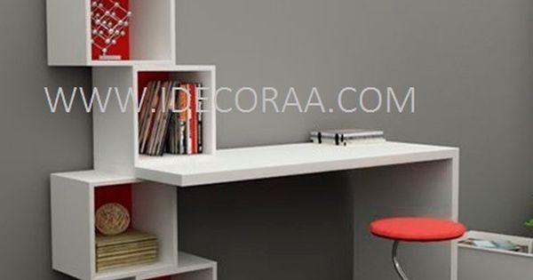 Moderno escritorio minimalista mueble idecoraa home swet - Mueble escritorio moderno ...