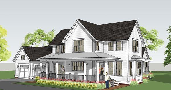 Modern Farmhouse With Main Floor Master Withrow Farmhouse FARMHOUSE Pin