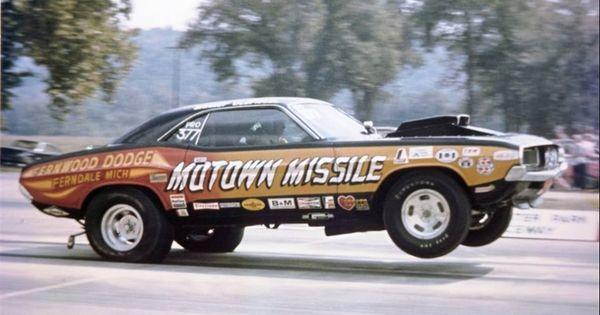 Pro Stock Challenger : Motown missile dodge challenger pro stock quarter