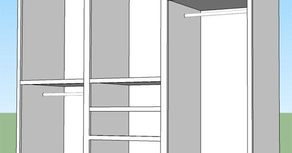 How to install a built-in closet Kate?