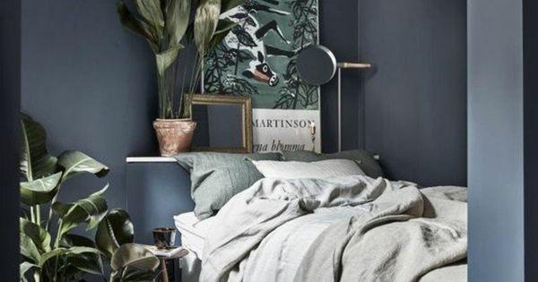 Id es chambre coucher design en 54 images sur archzine - Plante verte chambre a coucher ...