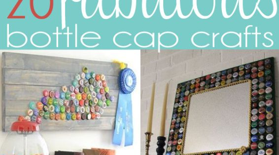 20 fabulous bottle cap craft and project DIY Ideas
