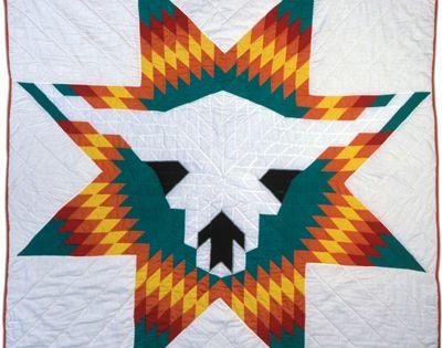 November 15 White Buffalo Skull Quilt Pattern Names Lone