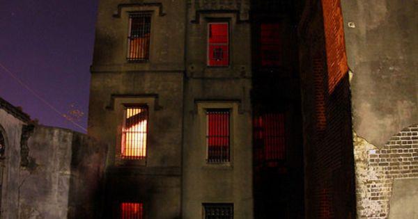 The old charleston city jail charleston south carolina for Most haunted places in south carolina