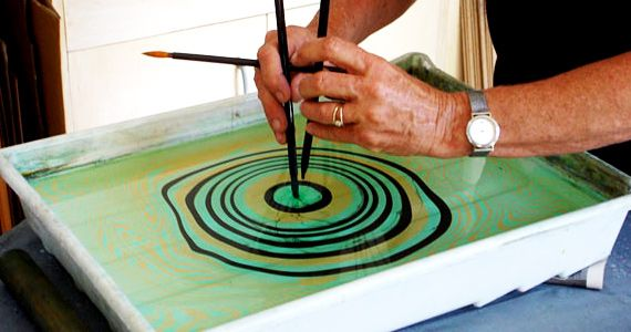 Please Share This Page I Have Done My Fair Share Of Marbling In The Past For Both Clients And Personal Proj Marbling Techniques Marble Paper Bookbinding