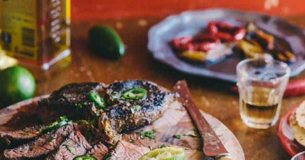 Tequila & Lime Marinated Steak- If I eat beef, this is how!!