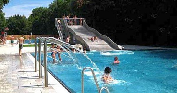 Das Dantebad Bis 23 00 Uhr Geoffnet Schwimmbader Freibad Bad