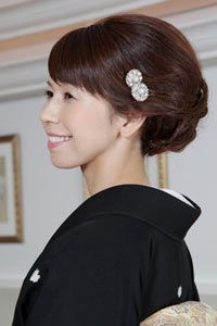 結婚 式 母親 髪型