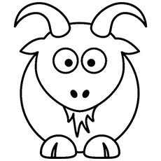 Top 25 Free Printable Goat Coloring Pages Online Animal Coloring