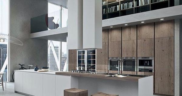 Zeer grote luxe open keuken open keuken pinterest open keuken luxe en keuken - Zeer grote eettafel ...