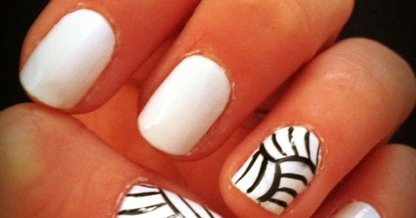 Love these nails! Volleyball