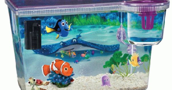 Kit Acuario Infantil Nemo Tiendanimal Baño Disney Dory Bebé Acuario