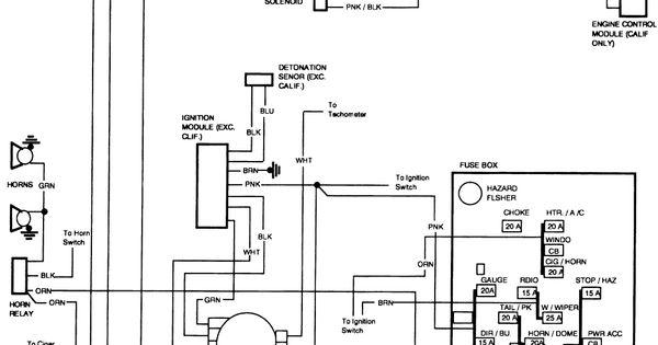 83 silverado fuse diagram free wiring diagram 1991 gmc sierra | wiring schematic for ... 2000 chevy silverado fuse diagram