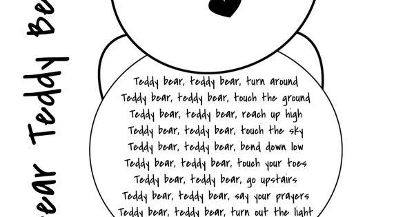 teddy bears picnic lyrics pdf