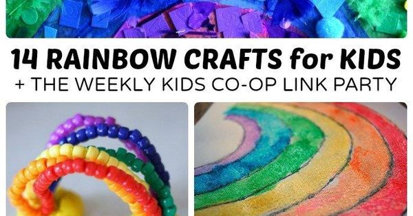 14 colorful rainbow crafts for kids rainbows craft and for Vacation bible school crafts for adults