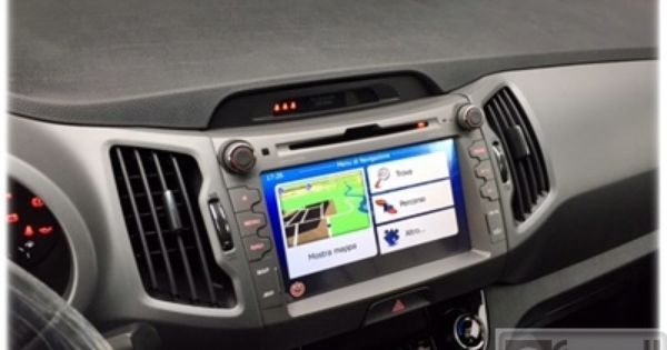 Navigatore Custom Fit Kia Sportage Iii Macrom Mof7040 Kia Kiasportage Navigationsystem Navigatore