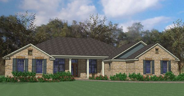 Plan 16867wg Southern Ranch Home House Plans Ranch House Plans Ranch House