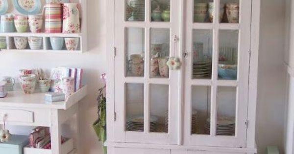 Shabby chic id es pour la maison pinterest vieux meubles meubles peint - Pinterest meubles peints ...