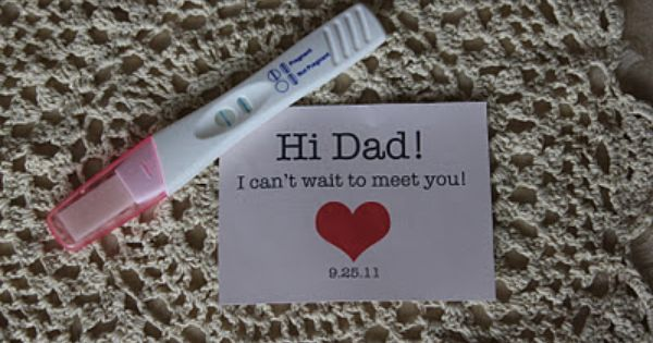 """Pregnancy Announcement Idea 