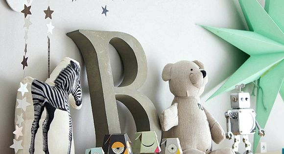 Tired of the same old nursery decor? Style it up with some